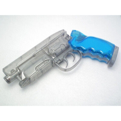 Blade Runner Blaster Water Gun Takagi Type M2019 Clear Silver Color with Poster
