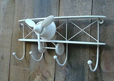 AIRPLANE Metal Wall Vintage Airplane Nursery BOY Decor Hook Cast Iron Coat
