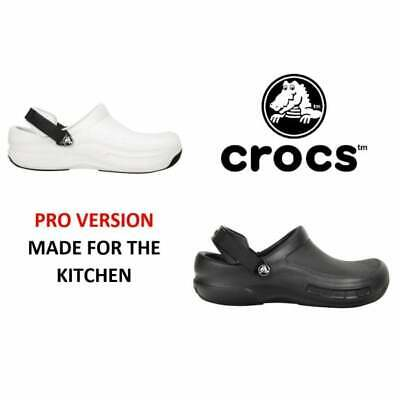 Crocs BISTRO PRO Unisex Mens Womens Ladies Croslite Work Soft Comfortable Clogs