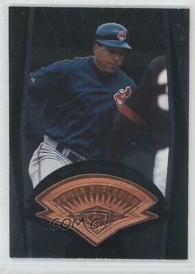 1998 SPx Finite #43 Manny Ramirez Cleveland Indians Baseball Card