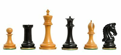 "The Imperial Collector Luxury Chess Set - Pieces Only - 4.4"" King - Genuine Ebon"