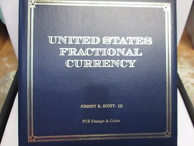 Pcs Stamps & Coins United States Fractional Currency Album- Named