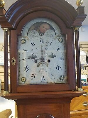 Early 19TH Century Channel Islands Crafted Long clock Circa 1820