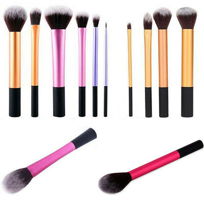 1/4/6pcs Kabuki Professional Makeup Brush Brushes Set Foundation Blusher
