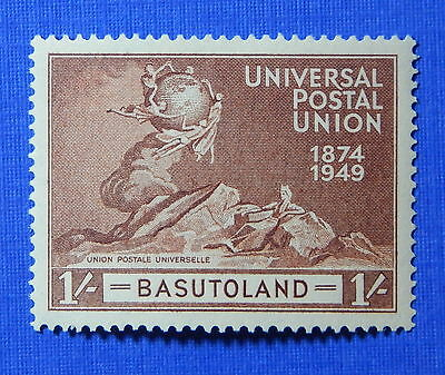 1949 Basutoland 1S Scott# 44 S.g.# 41 Unused                             Cs20623