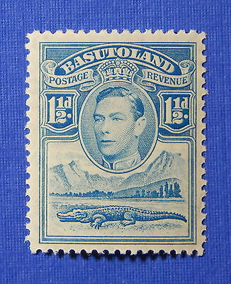 1938 BASUTOLAND 1 1/2d SCOTT# 20 S.G.# 20 UNUSED                         CS20604