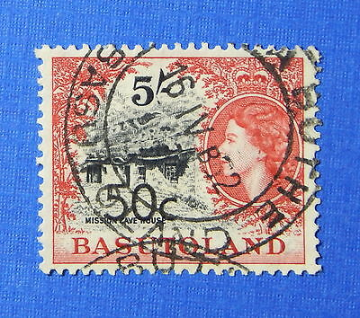 1961 BASUTOLAND 50c SCOTT# 70 S.G.# 67a USED                             CS20255