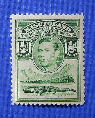 1938 BASUTOLAND 1/2d SCOTT# 18 S.G.# 18 UNUSED                           CS20602