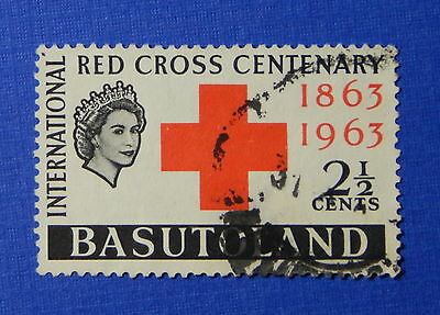 1963 BASUTOLAND 2 1/2c SCOTT# 84 S.G.# 81 USED                           CS20277