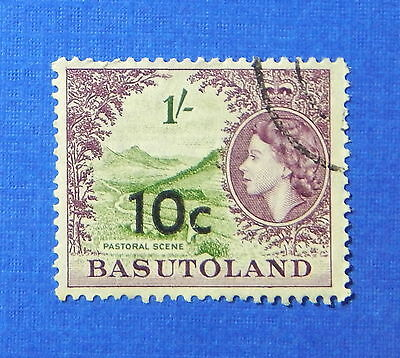 1961 BASUTOLAND 10c SCOTT# 67 S.G.# 64 USED                              CS20224