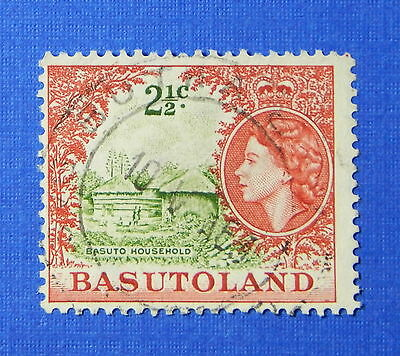 1961 BASUTOLAND 2 1/2c SCOTT# 75 S.G.# 72 USED                           CS20266