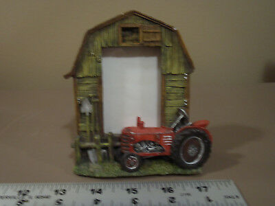 Barn , Farm Tractor Picture Frame  2 X 3
