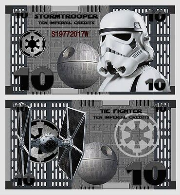 Stormtrooper - 10 Imperial Credits - Fantasy Note - Star Wars (2017)