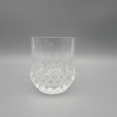 SET OF SIX - Cristal d'Arques LONGCHAMP Double Old-Fashioneds / Whiskey Glasses