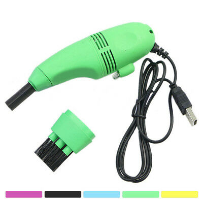 For Computer Laptop Vacuum Mini USB Keyboard Cleaner Brush Dust Cleaning Kit