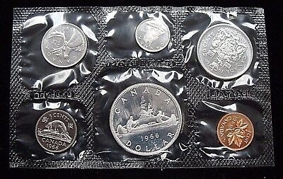 Stunning 1966 Canadian Silver Proof-like set in Original Mint Packaging