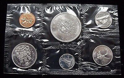 Stunning 1964 Canadian Silver Proof-like set in Original Mint Packaging