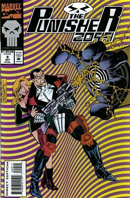 Marvel Comics The Punisher 2099 #9 (1993) VF/NM