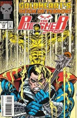 The Punisher 2099 (1993 Series) #18 VF/NM Marvel Comics Goldheart APP!