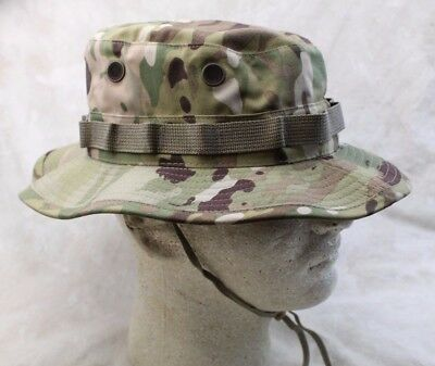 New Genuine Usgi Us Military Issue Multicam Boonie Hat Ripstop - Usa Made