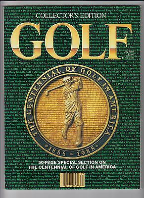 Golf Magazine Collector's Edition- July 1988 (The Centennial Of Golf In America)