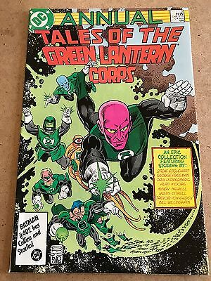 #2 - Tales Of The GREEN LANTERN Corps - Annual - DC 1986