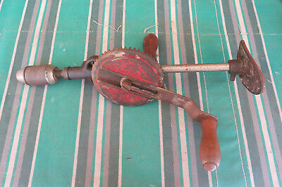 Vintage hand chest drill Record brand