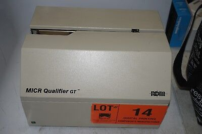 RDM MICR Qualifier GT Check Reader Device - Model 2453FE