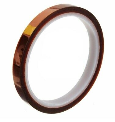 5mm - 33m 100ft High Temp. Heat Resistant Kapton Polyimide Electrical Tape