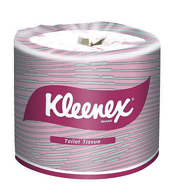 "KLEENEX TOILET TISSUE PAPER  2 PLY 400 SHEETS  EXECUTIVE ""Price is per Roll"""