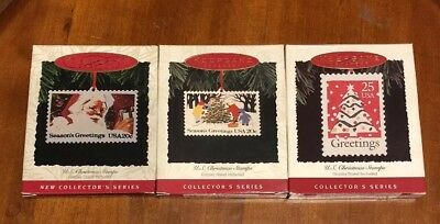 Hallmark Stamp Ornament/display Collection (1993-1995)