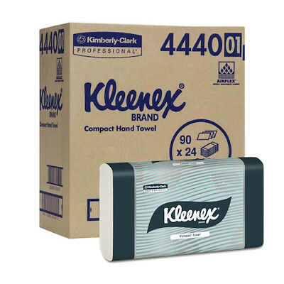 Kleenex 4440 Compact Hand Towel 24 Packs of 90 Towels