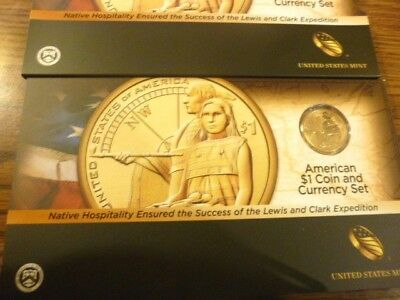 2014 American $1 Coin and Currency Set - Native Hospitality