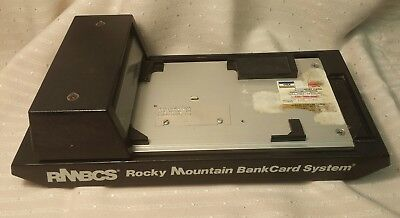 Credit Card Imprinter Machine Manual Swiper Vintage Slider Bank Collectable  EUC
