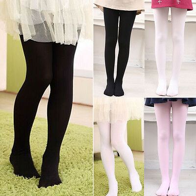 US Children Kids Ballet Dance Tights Footed Seamless Girls and Ladies Stockings