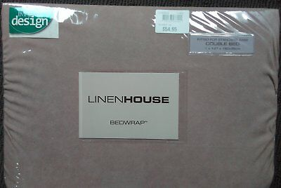 Linen House Stretch Over Valance | Bed Wrap - Double Bed