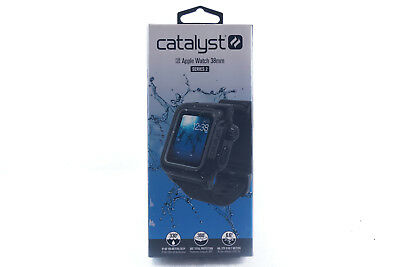 Catalyst Waterproof Case and Band for Apple Watch 38mm Series 2 - Stealth Black