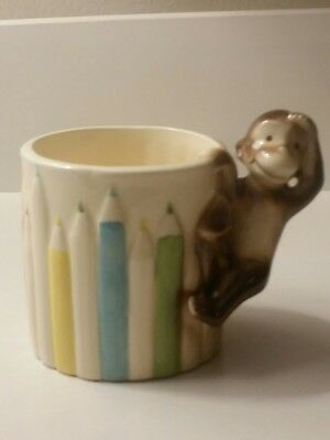Curious George 1981 Margaret Rey Gorham Pencil Holder