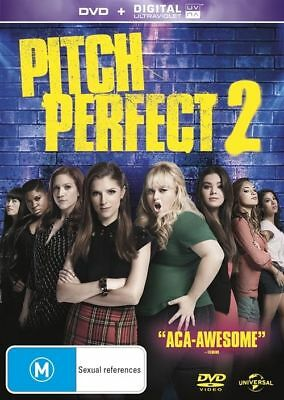 Pitch Perfect 2 (DVD, 2015) NEW R4