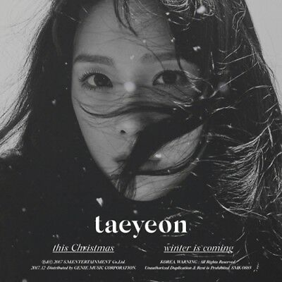 TAEYEON-[THIS CHRISTMAS-WINTER IS COMING]CD+Poster+Store Gift +Card+Tracking No.