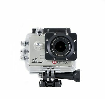 QUMOX SJ5000X Elite 4K NTK96660 Gyro Action Camera WiFi HD Sports DV Sil