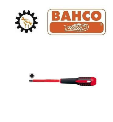 Bahco Insulated screwdriver for hexagon head screws 2.5, 3, 4, 5, 6, 8 mm