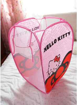 Hello Kitty fashion cartoon cute folding laundry basket basket