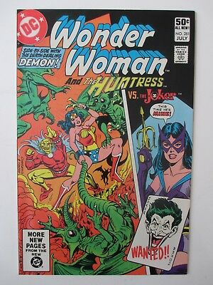 Wonder Woman 281  Vfnm-  (Joker) (Combined Shipping)(See 12 Photos)(Auction #18)