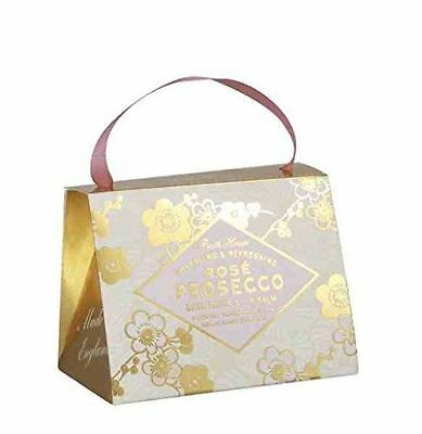Cocktail Collection Rose Prosecco Scented Handbag Gift Set by Bath House