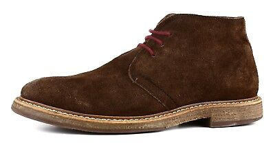87d2698871c CROCKETT   JONES Made in England Hartland 2 Tan Suede Leather Chukka ...