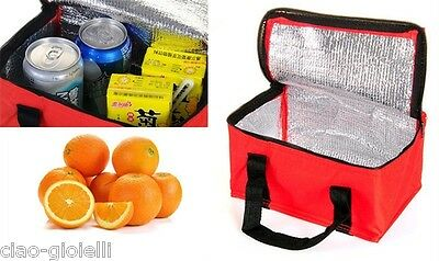 Picnic Lunch Storage Bag Camping Thermal Insulated Cool Waterproof Box Car Pouch