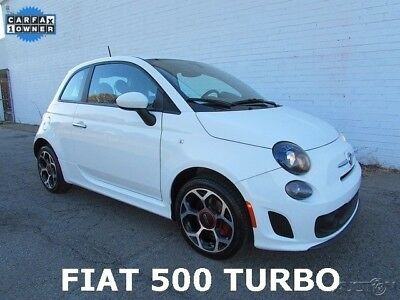 2016 Fiat 500 Turbo Hatchback 2-Door 2016 FIAT 500 Turbo Hatchback 2-Door Used 1.4L I4 16V Automatic FWD