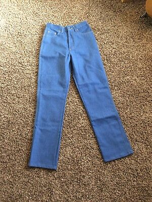 1970s 70s Vintage High Waisted Jeans Deadstock NWOT Shepler's Riding 26/27