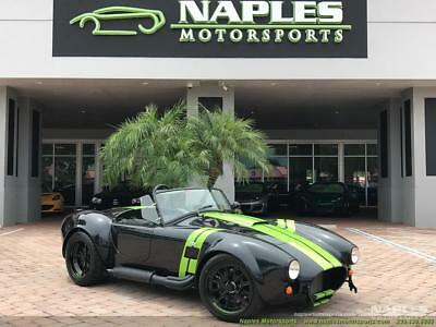 1965 Replica/Kit Makes 427 Shelby Replica 1965 Replica/Kit BackDraft Racing 427 Shelby Replica 5 Speed Manual 2-Door Conve